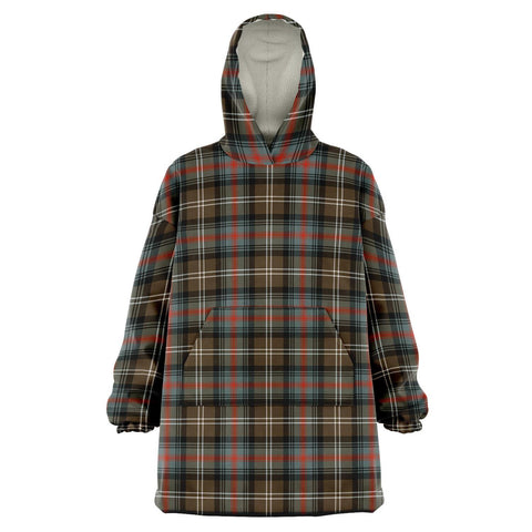 Image of Sutherland Weathered Snug Hoodie - Unisex Tartan Plaid Front