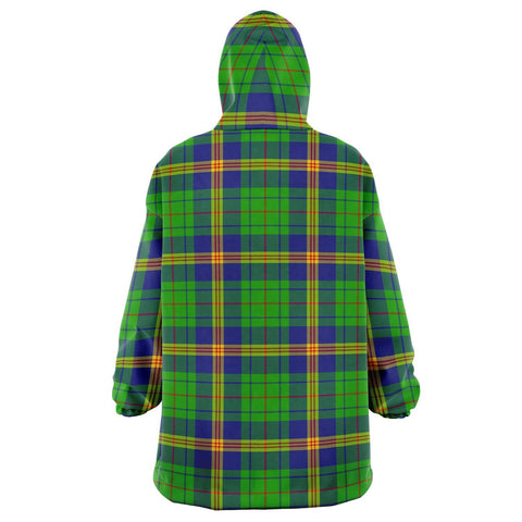 New Mexico Snug Hoodie - Unisex Tartan Plaid Back