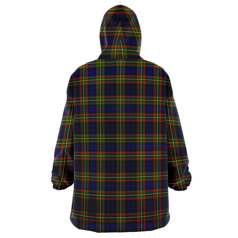 Image of Clelland Modern Snug Hoodie - Unisex Tartan Plaid Back