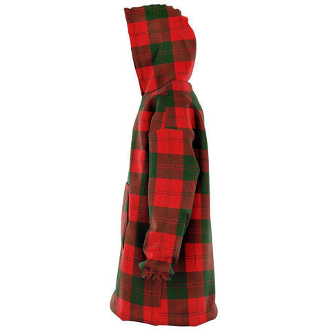 Image of Erskine Modern Snug Hoodie - Unisex Tartan Plaid Left