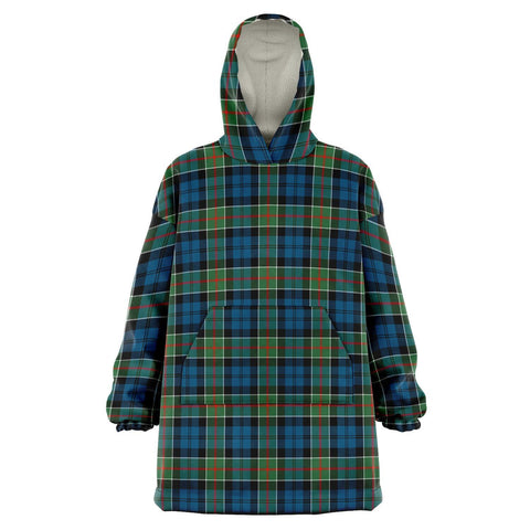 Image of Colquhoun Ancient Snug Hoodie - Unisex Tartan Plaid Front
