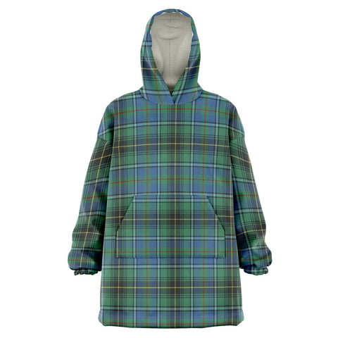 Image of MacInnes Ancient Snug Hoodie - Unisex Tartan Plaid Front