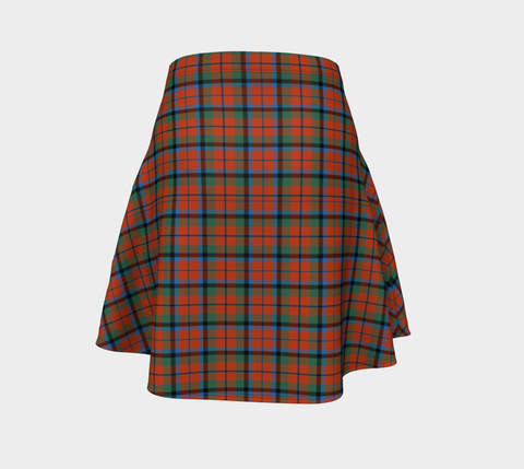Tartan Flared Skirt - MacNaughton Ancient |Over 500 Tartans | Special Custom Design | Love Scotland