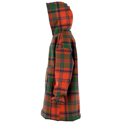 Stewart of Appin Ancient Snug Hoodie - Unisex Tartan Plaid Left