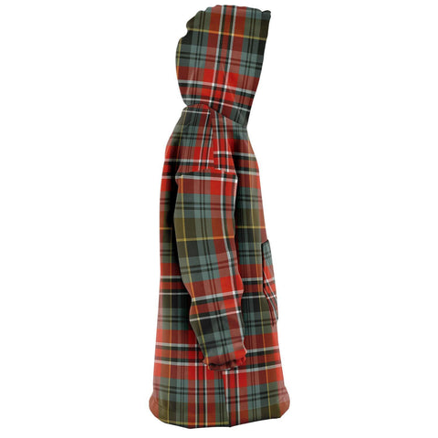 MacPherson Weathered Snug Hoodie - Unisex Tartan Plaid Right