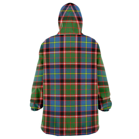 Stirling & Bannockburn District Snug Hoodie - Unisex Tartan Plaid Back