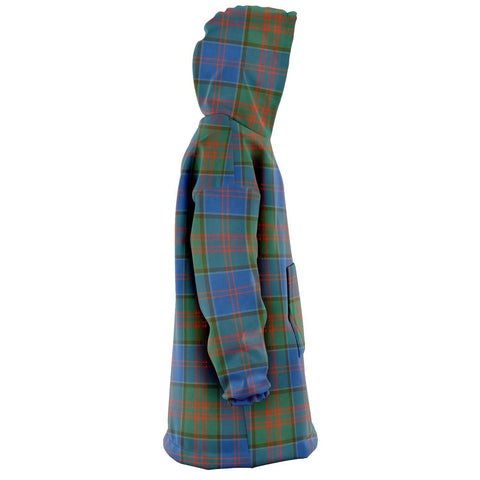 Stewart of Appin Hunting Ancient Snug Hoodie - Unisex Tartan Plaid Right