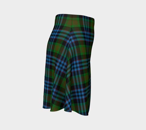 Image of Tartan Flared Skirt - Newlands of Lauriston