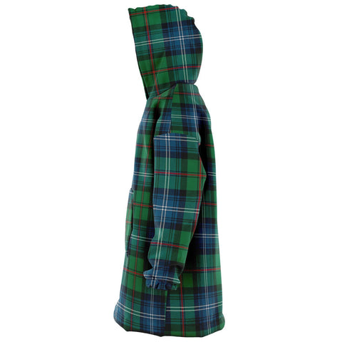 Urquhart Ancient Snug Hoodie - Unisex Tartan Plaid Left