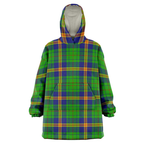 New Mexico Snug Hoodie - Unisex Tartan Plaid Front