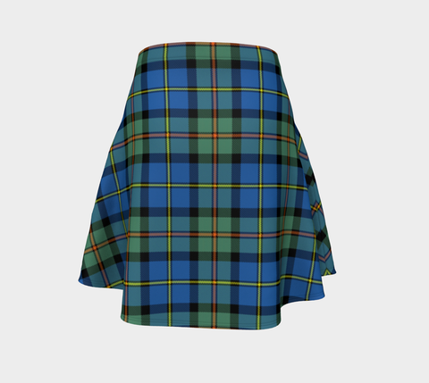 Tartan Flared Skirt - MacLeod of Harris Ancient A9