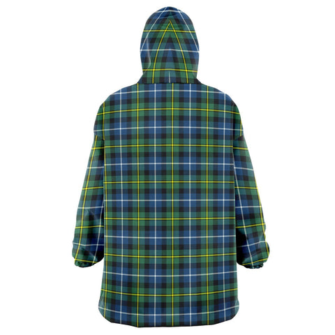 MacNeill of Barra Ancient Snug Hoodie - Unisex Tartan Plaid Back