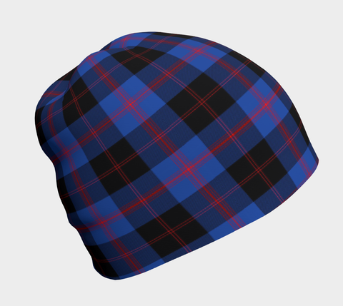 Angus Modern  Tartan Beanie Clothing and Apparel