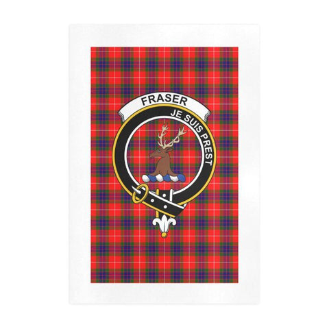 Fraser (Of Lovat) Clan Tartan Art Print | Tartan Decor | Hot Sale