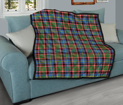 Stirling & Bannockburn District Tartan Premium Quilt TH8