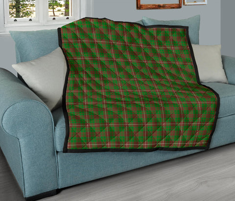 MacKinnon Hunting Modern Tartan Premium Quilt TH8