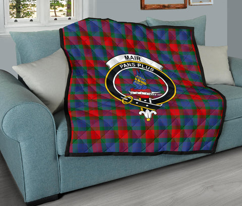 Mar Tartan Clan Badge Premium Quilt TH8