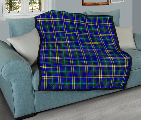 Image of Weir Modern Tartan Premium Quilt TH8