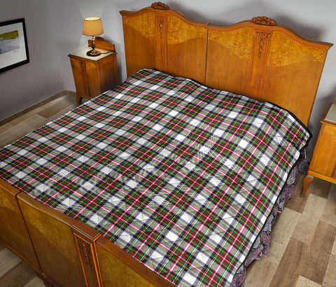 Stewart Dress Modern Tartan Premium Quilt TH8
