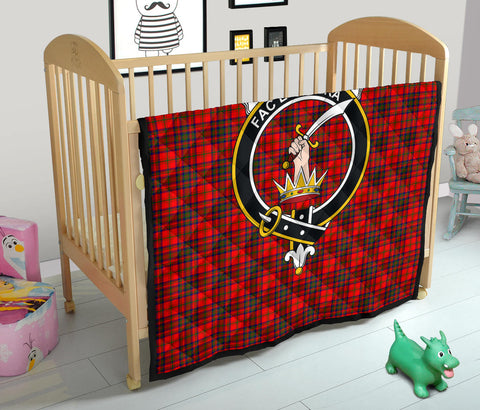 Matheson Modern Tartan Clan Badge Premium Quilt TH8