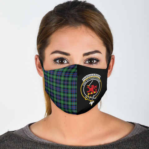 Farquharson Ancient  Tartan Mouth Mask The Half