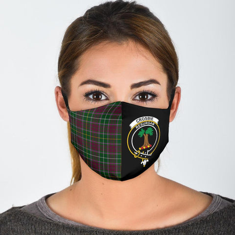 Crosbie  Tartan Mouth Mask The Half
