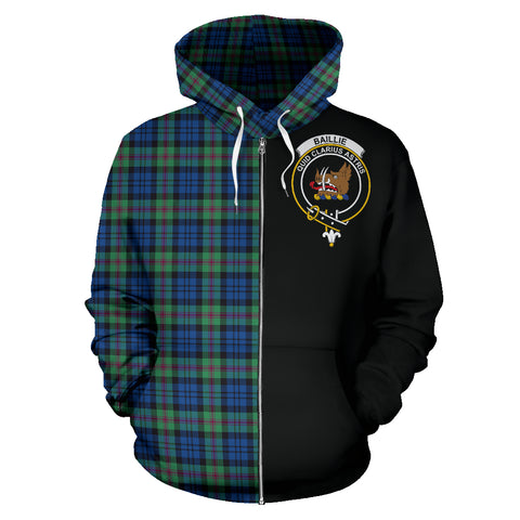 Image of Baird Ancient Tartan Hoodie Half Of Me