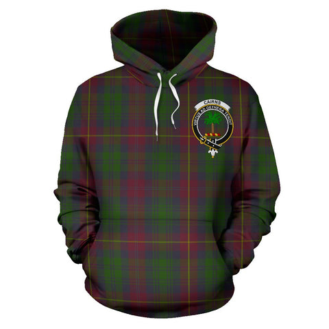 Cairns Tartan Clan Badge Hoodie HJ4
