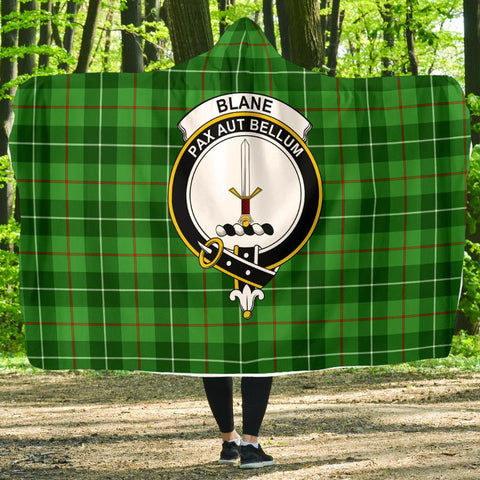 Image of Blane Clans Tartan Hooded Blanket