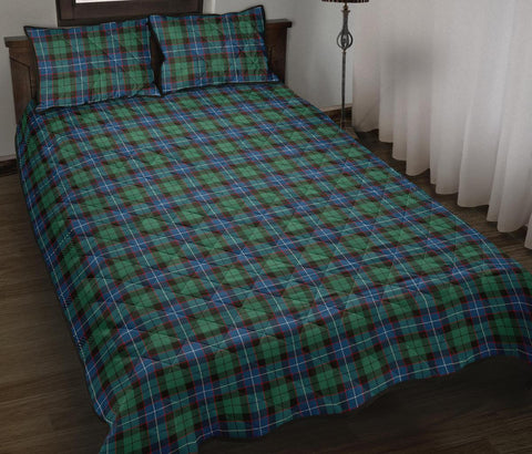 Hunter Ancient Tartan Quilt Bed Set