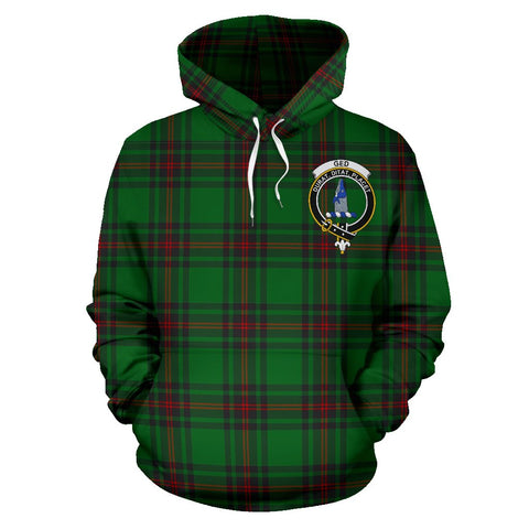 Image of Ged Tartan Clan Badge Hoodie HJ4