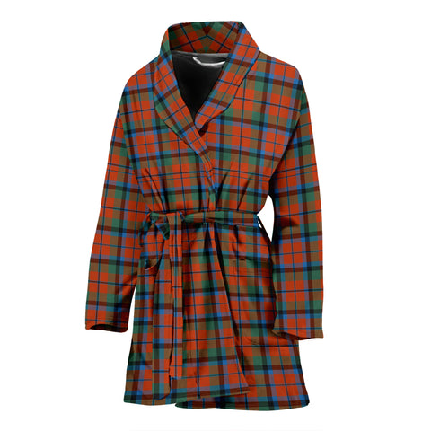 MacNaughton Ancient Tartan Womens Bathrobe