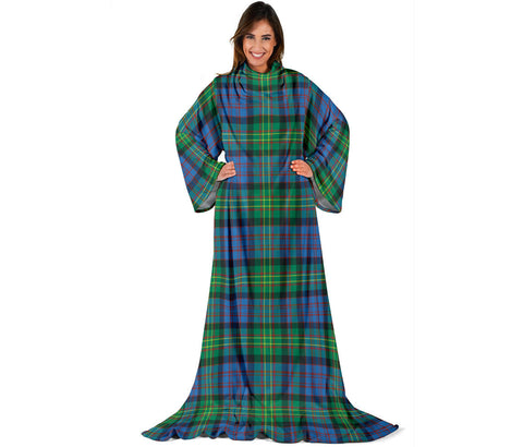 Bowie Ancient Tartan Clans Sleeve Blanket | scottishclans.co