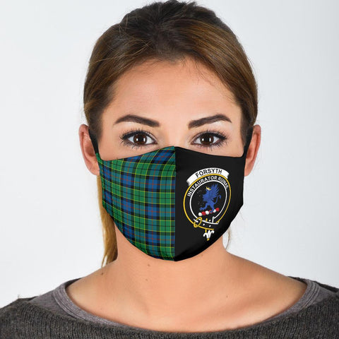 Forsyth Ancient  Tartan Mouth Mask The Half