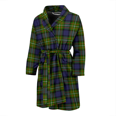 Fergusson Modern Tartan Mens Bathrobe