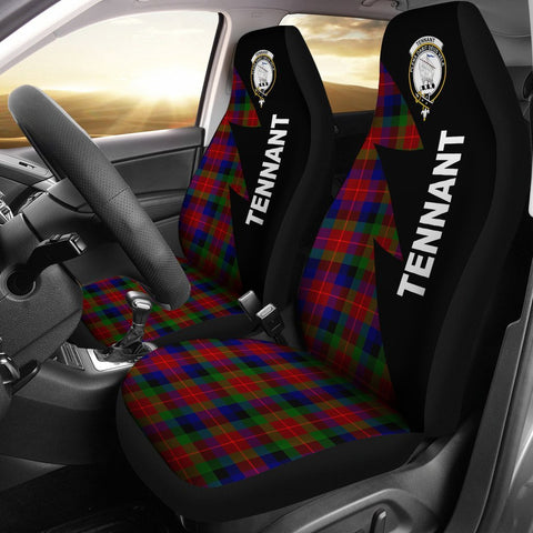 Tennant Clans Tartan Car Seat Covers - Flash Style