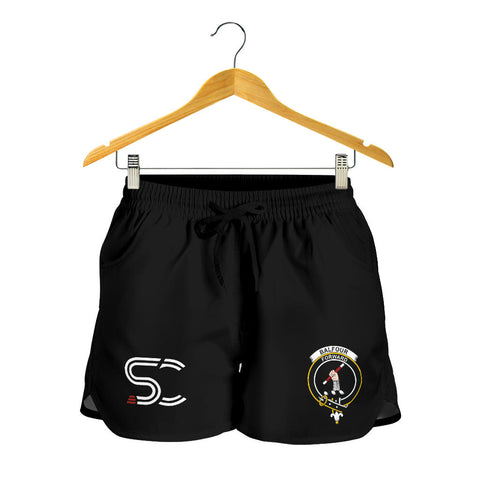 Balfour Blue Clan Badge Women's Shorts