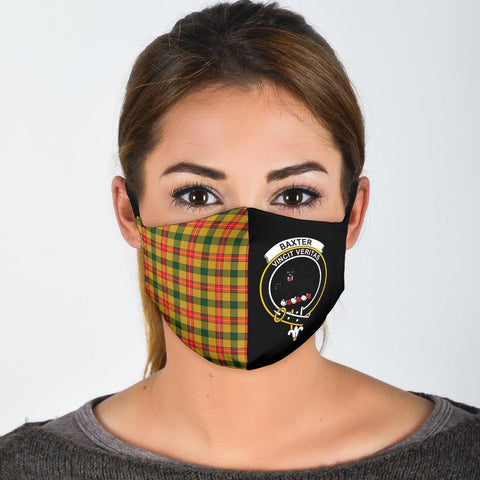Image of Baxter  Tartan Mouth Mask The Half