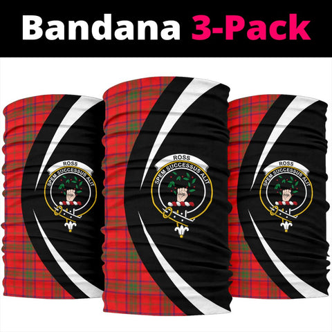 Image of Ross Modern Tartan Bandana Circle