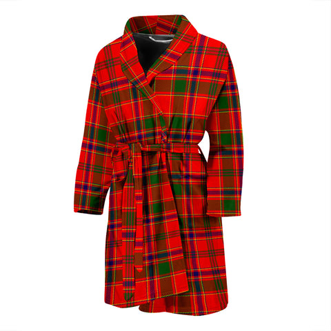 Munro Modern Tartan Mens Bathrobe