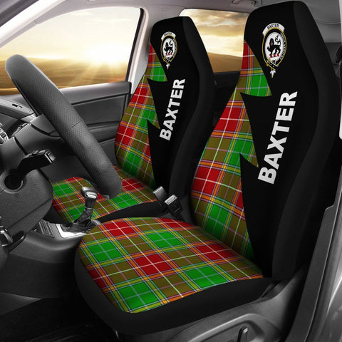 Image of Baxter Clans Tartan Car Seat Covers - Flash Style