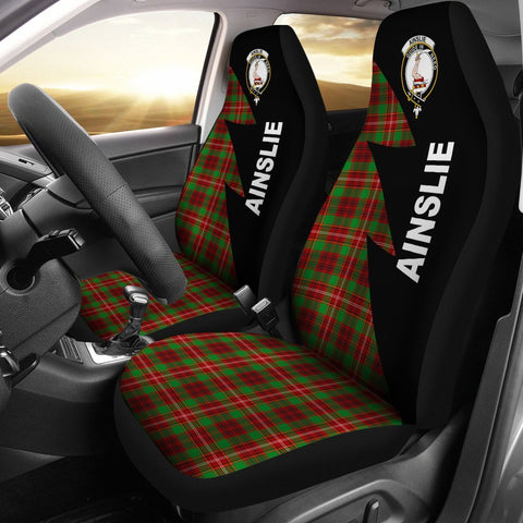 Ainslie Clans Tartan Car Seat Covers - Flash Style