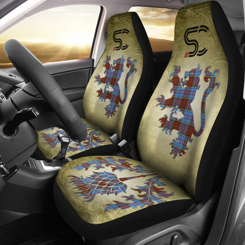 Anderson Modern Tartan Car Seat Cover Lion and Thistle Special Style