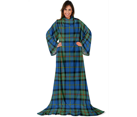MacLeod of Harris Ancient Tartan Clans Sleeve Blanket | scottishclans.co
