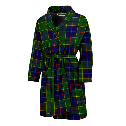 Forsyth Modern Tartan Mens Bathrobe