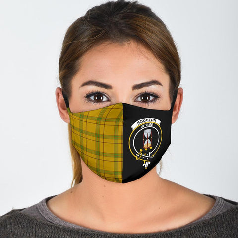 Houston  Tartan Mouth Mask The Half