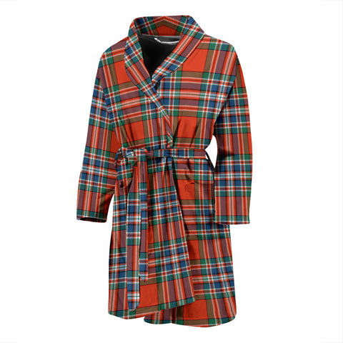MacFarlane Ancient Tartan Mens Bathrobe