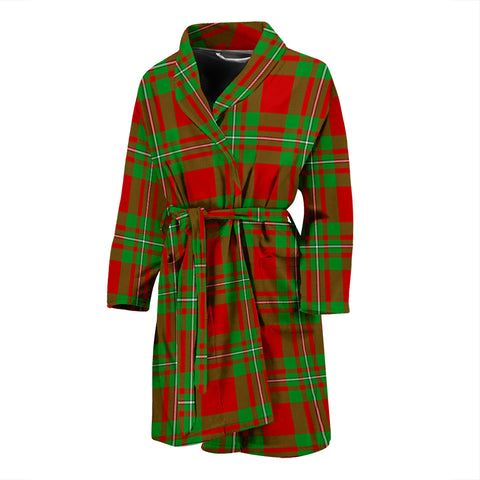 Image of MacGregor Modern Tartan Mens Bathrobe