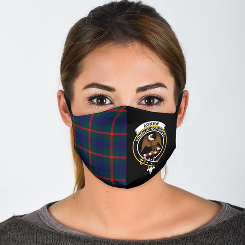 Agnew Modern  Tartan Mouth Mask The Half