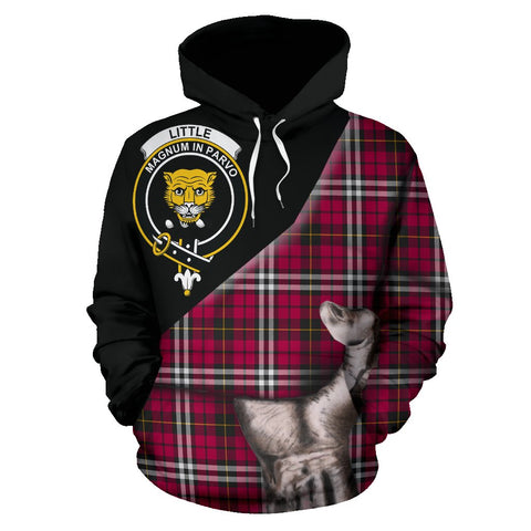 Little Tartan Clan Crest Hoodie Patronage HJ4
